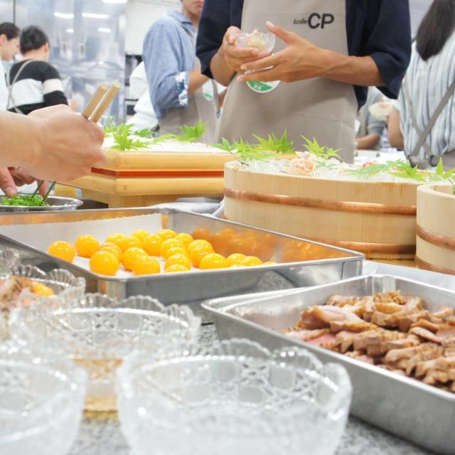神戸国際調理製菓専門学校 日本料理に挑戦!!お出汁とは?2