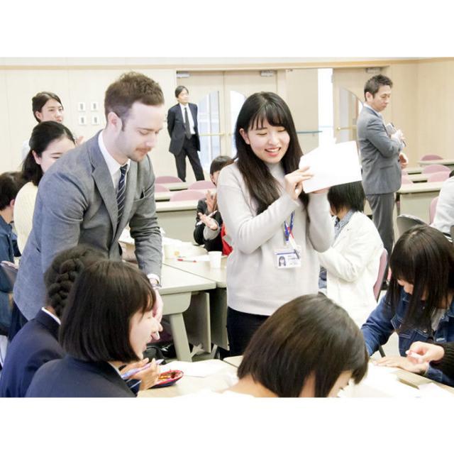 日本外国語専門学校 韓国フェア(2018夏)3