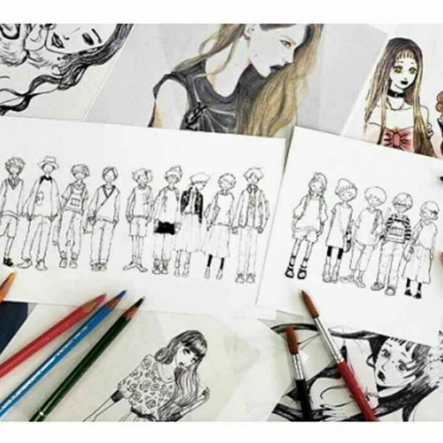 神戸ファッション専門学校 9/25  デザイナー体験1
