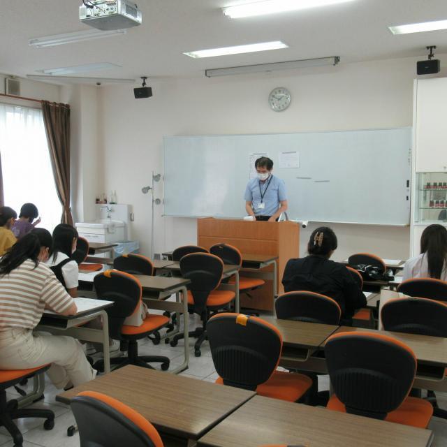 育英短期大学 冬のオープンキャンパス(現代コミュニケーション学科)4