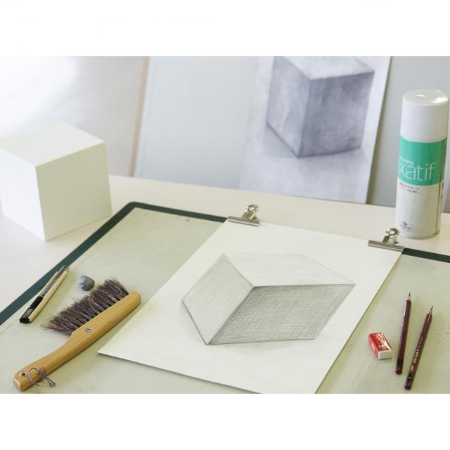 あいち造形デザイン専門学校 デッサン基礎[透視図法やデッサンの基本を学んでみよう!]1