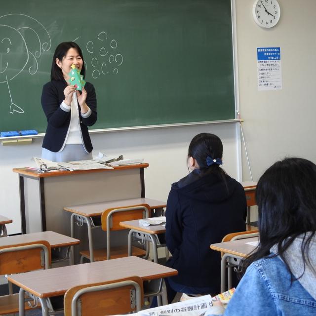 芦屋大学 【体験授業】「子どものやってみたい!」を育てる保育体験1