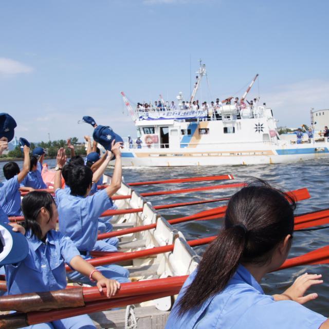 国立清水海上技術短期大学校 体験型オープンキャンパス1