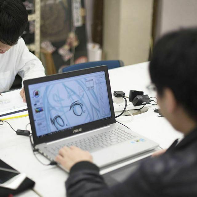 大阪デザイナー専門学校 はじめてのアニメーション講座1