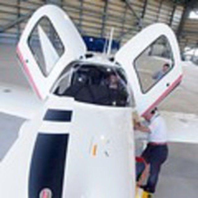 大阪航空専門学校 <飛行機も見れるよ> 憧れのCA、グランドスタッフを体験2