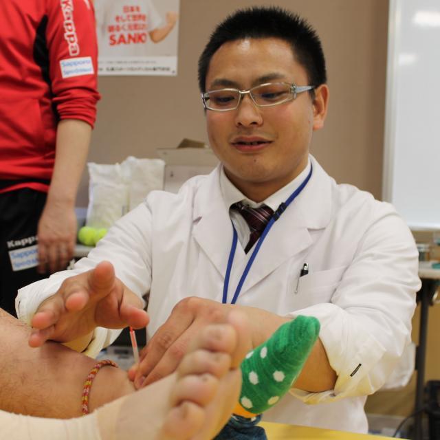 札幌スポーツ&メディカル専門学校 柔整科、鍼灸科のオープンキャンパス3