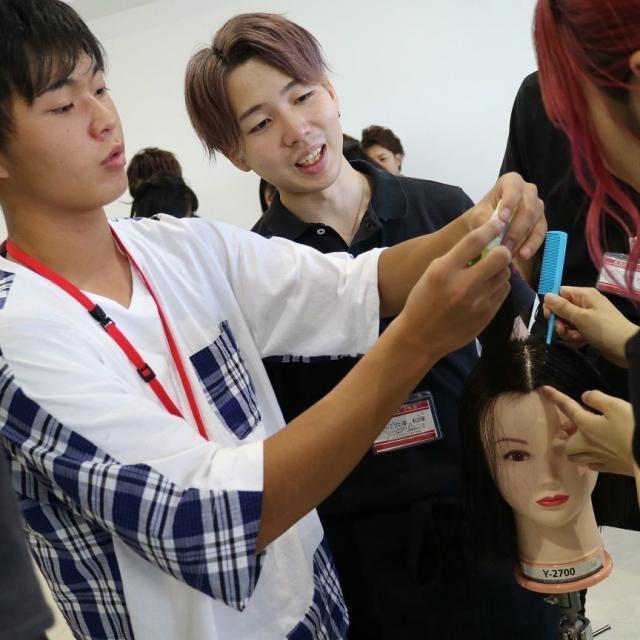 ジェイ ヘアメイク専門学校 4/27(土)Jの美容実習★まるごと体験2