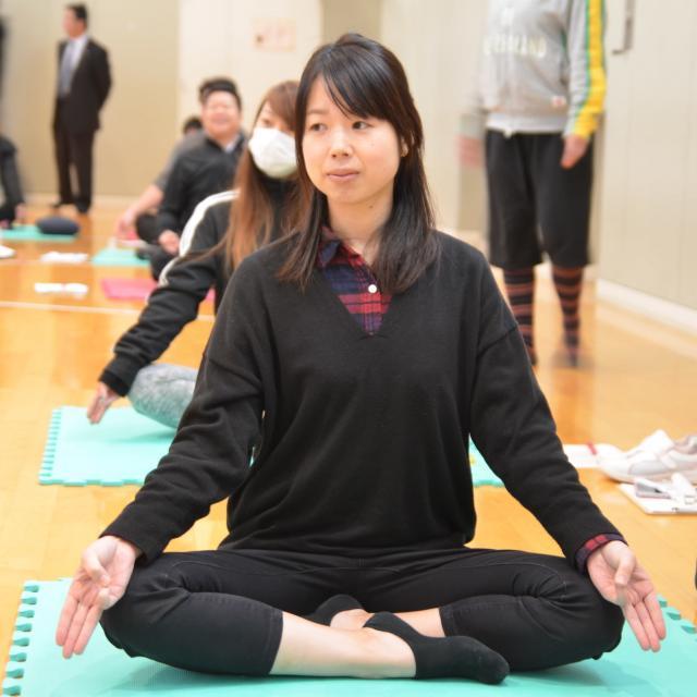 京都福祉専門学校 体験入学会 ~ 介護体験とヨガで心身を整える ~3