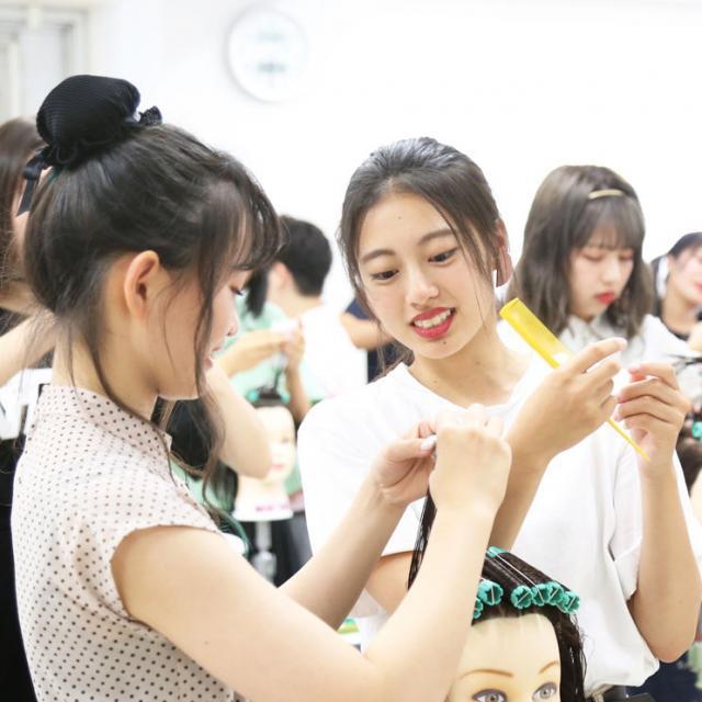 名古屋美容専門学校 (^-^) AO入学直前!体験入学 '192