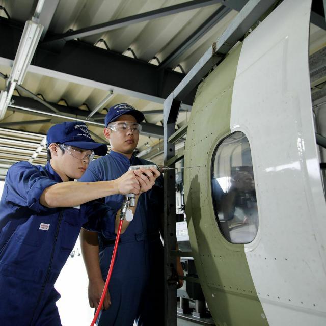 日本航空大学校 石川 能登空港キャンパス 航空整備技術科オープンキャンパス!4