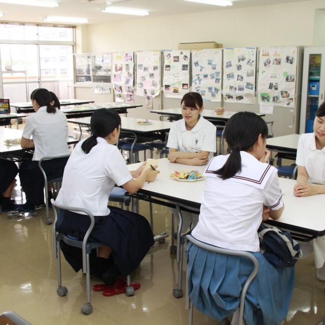 九州保健福祉大学総合医療専門学校 学校見学会3