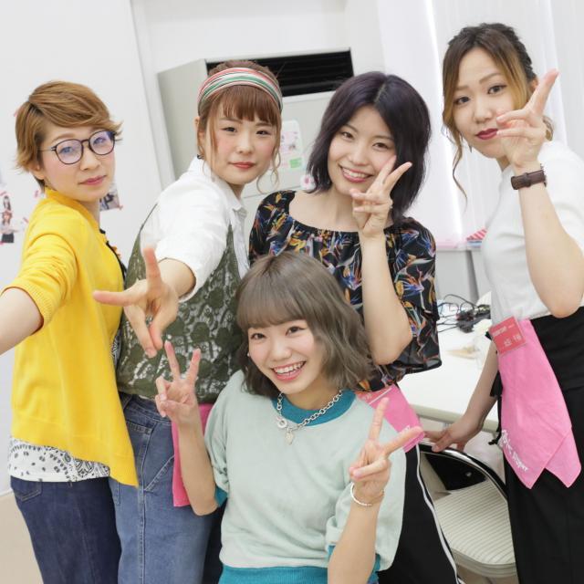 旭美容専門学校 3/24(日) 1年生美容師さんトーク&デモ1