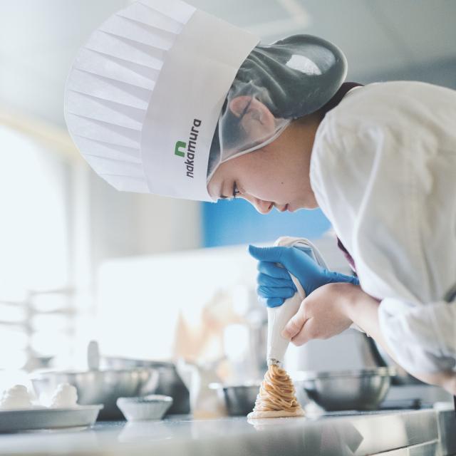 中村調理製菓専門学校 【レベルアップコース】さらにレベルアップのレシピに挑戦!1
