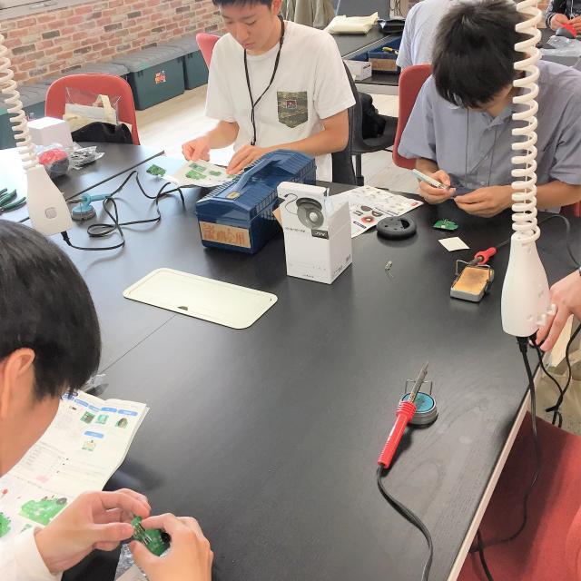 大阪電子専門学校 高2生も夏休みは進路を考えよう!先輩と体験するイベント開催4