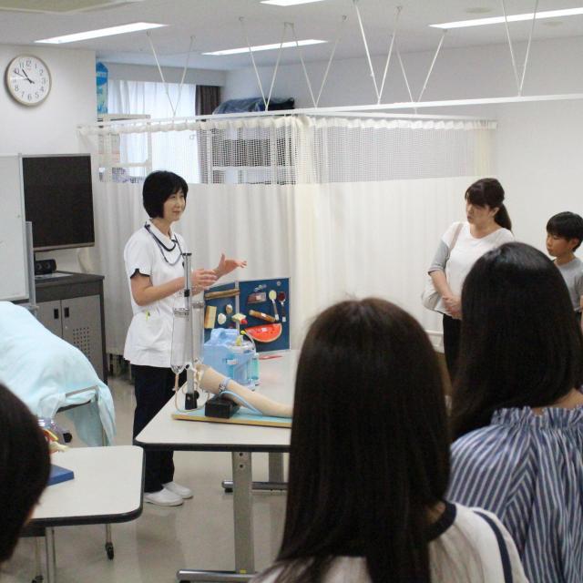 帝京高等看護学院 帝京高等看護学院のオープンキャンパス20184