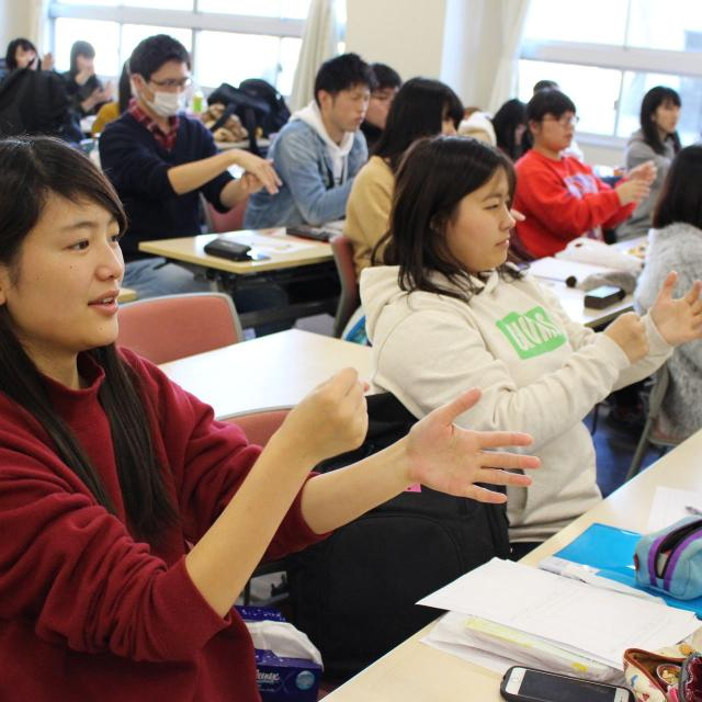 足利短期大学 1日授業体験!AJCエクスペリエンス4