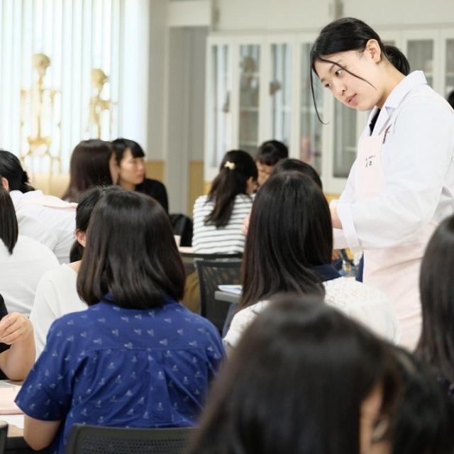 札幌保健医療大学 【栄養学科】オープンキャンパス1