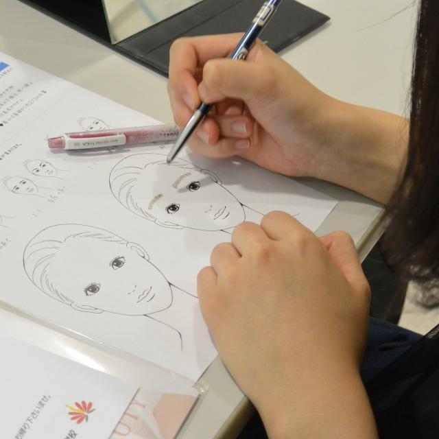 岡山プロフェッショナル・ビューティ 専門学校 チャレンジ体験2