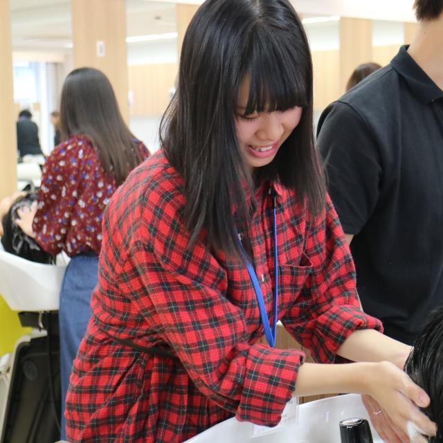ジェイ ヘアメイク専門学校 1/26(土)オープンキャンパス!!【シャンプー体験】2