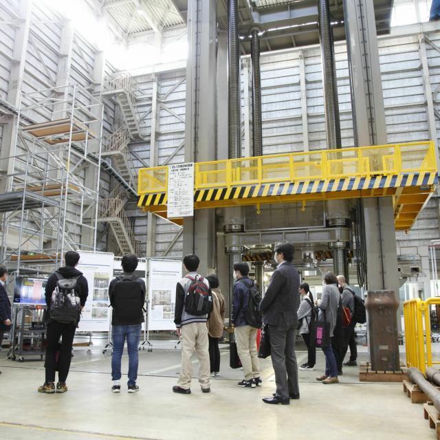 日本大学 【理工学部】オープンキャンパス船橋キャンパスウォッチング1