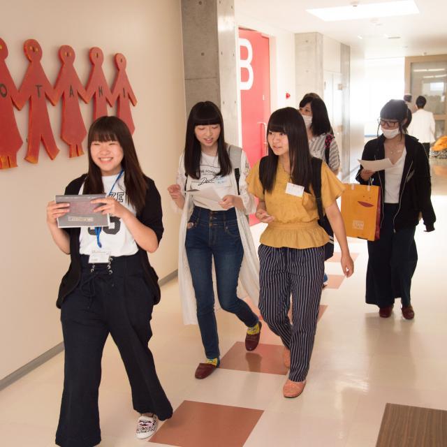 函館大谷短期大学 「こどもと一緒に遊ぼう!!」こども科OC開催!2