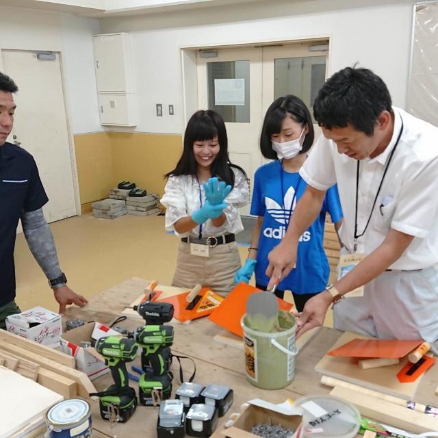 東海工業専門学校金山校 Do It Yourself!DIY体験教室コース!3