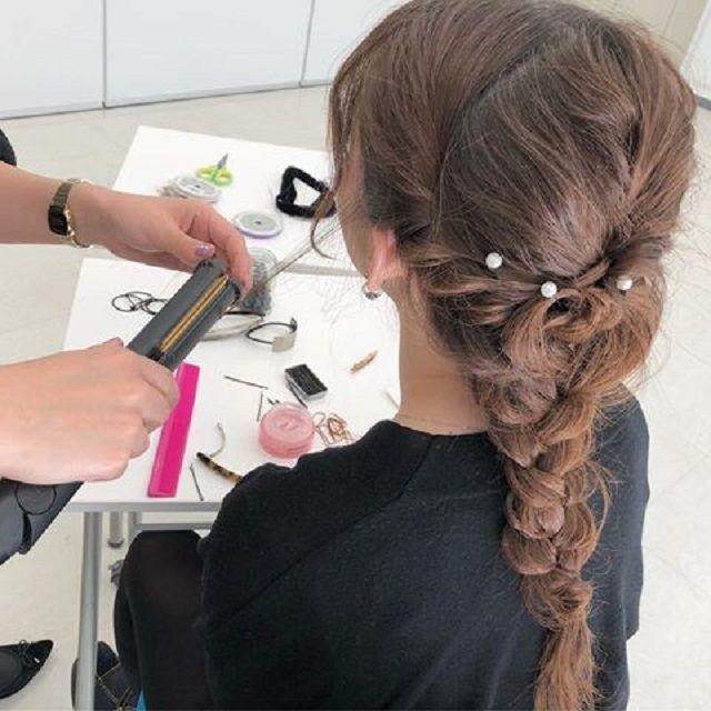 熊本ベルェベル美容専門学校 美容の世界を知ろう!オープンキャンパス3