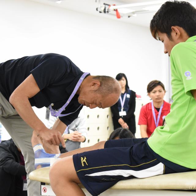 専門学校 琉球リハビリテーション学院 オープンキャンパス:メディカルスポーツ柔道整復学科3