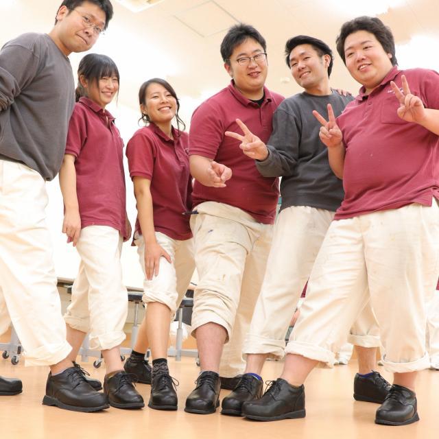 北海道ハイテクノロジー専門学校 今話題の「靴」を作る!義肢装具士は靴を作ることも仕事です!3
