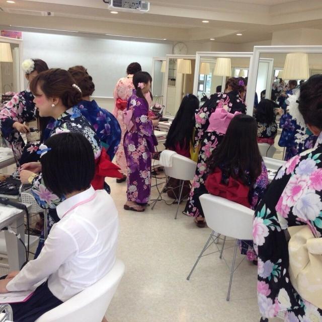 広島ビューティー&ブライダル専門学校 浴衣を着てとうかさんへ行こうイベント♪3