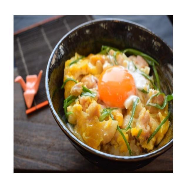 山手調理製菓専門学校 【日本料理】究極の親子丼1