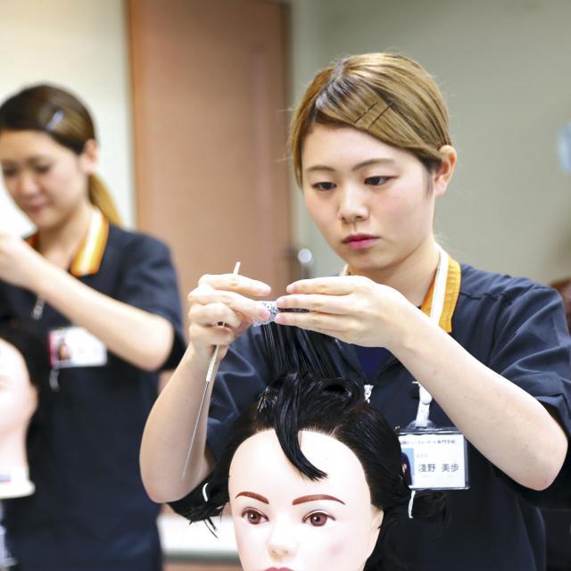 福岡ビューティーアート専門学校 【高校3年生向け】6月オープンキャンパス2