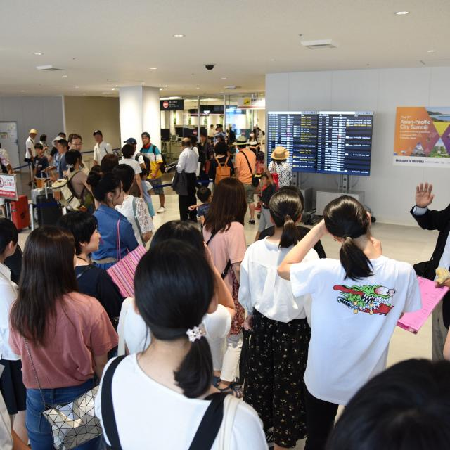 西鉄国際ビジネスカレッジ JAL特集!福岡空港編。JALファン必見のプログラム!4