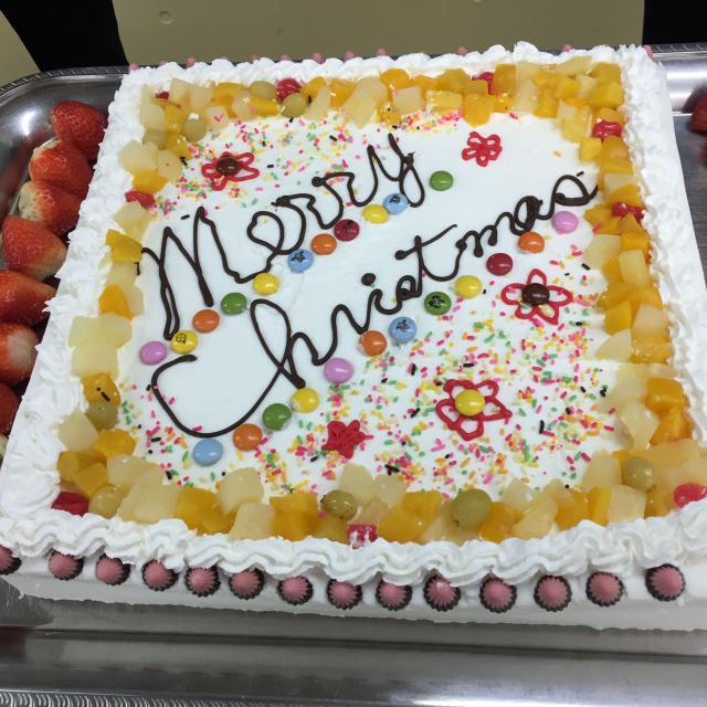 熊本電子ビジネス専門学校 クリスマスカフェ2