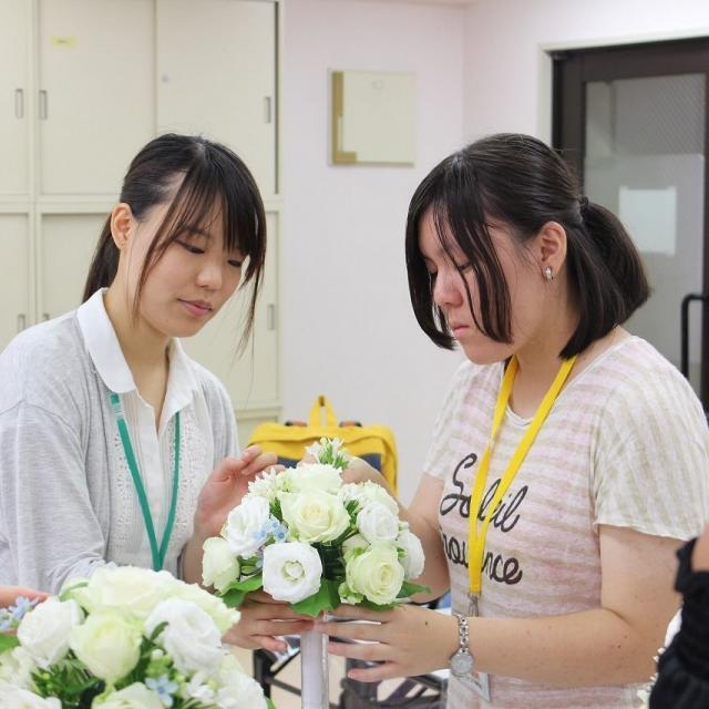 広島ビジネス専門学校 キャリアビジネス科7コース オープンキャンパス2