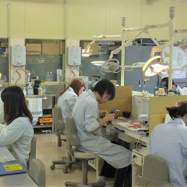 オープンキャンパス 歯科技工学科