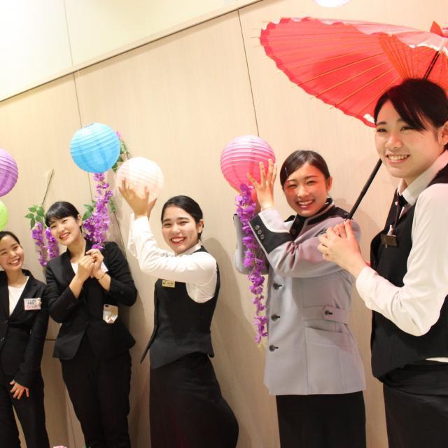 大阪ホテル専門学校 【高校1・2年生対象】職業なりきり体験オープンキャンパス♪1
