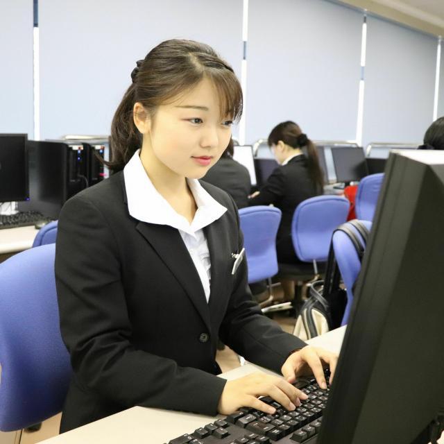 九州観光専門学校 9月の体験入学(IT観光)1