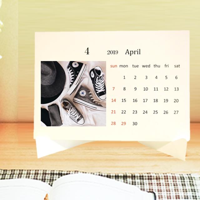 華服飾専門学校 オリジナルカレンダー製作1