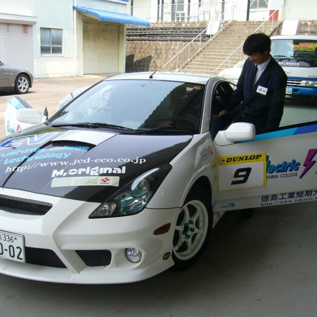 電気自動車の体験