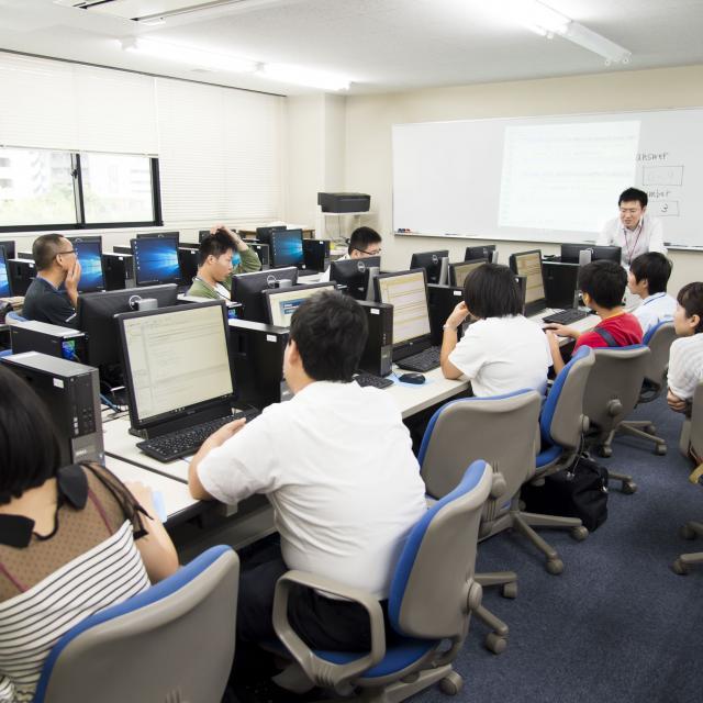 広島コンピュータ専門学校 【コンピュータ特別版】オープンキャンパス20182