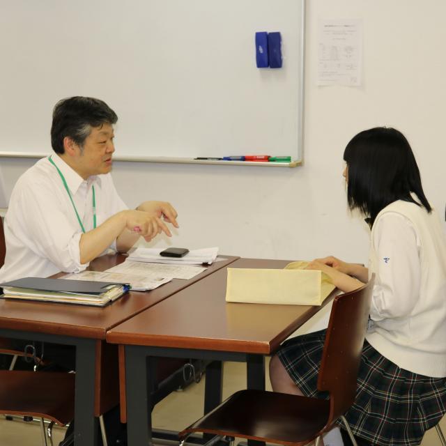 日本薬科大学 入試説明会(さいたまキャンパス)1