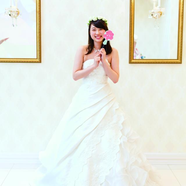 【ウェディングドレス☆フォト体験】