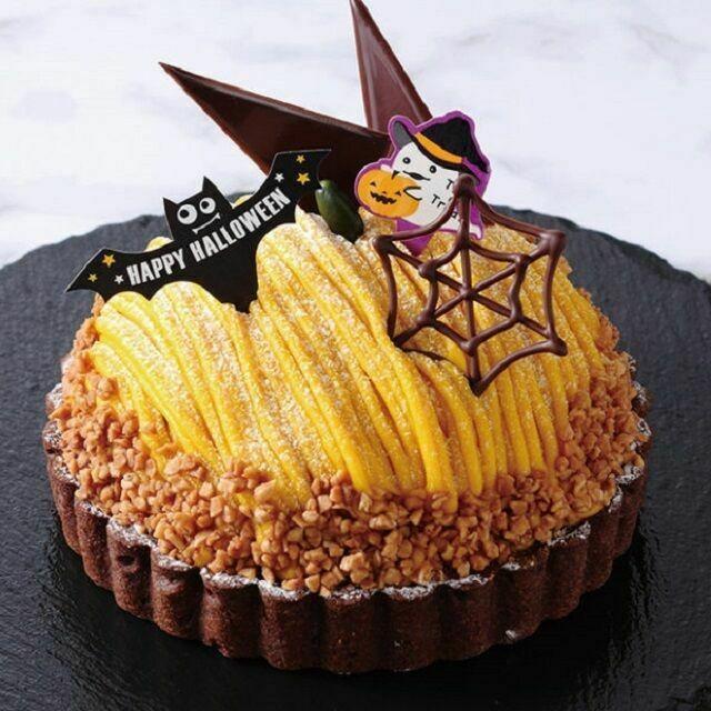 服部栄養専門学校 【調理・製菓検討者にオススメ】ハロウィンにかぼちゃのタルト1