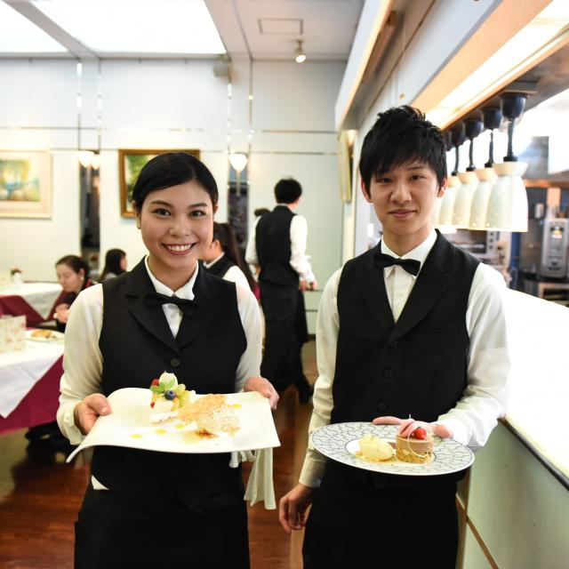 東京調理製菓専門学校 学生レストランを体験しよう1