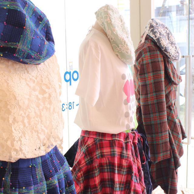 京都芸術デザイン専門学校 【ファッション・販売・衣装制作】ファッション分野体験講座2