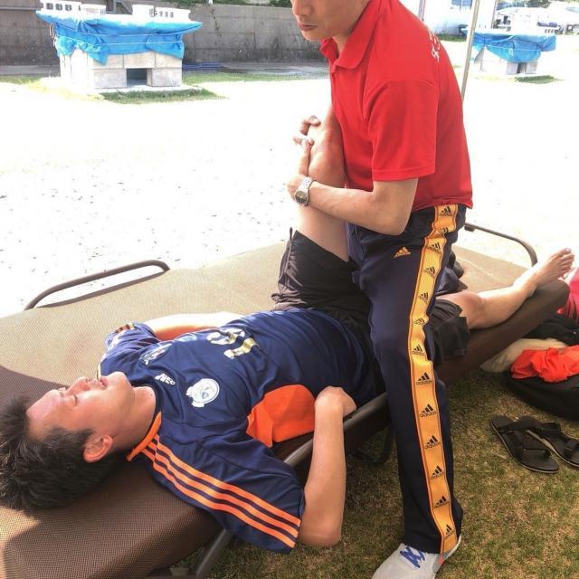 こころ医療福祉専門学校 外傷のプロ 柔道整復師の職業体験!2