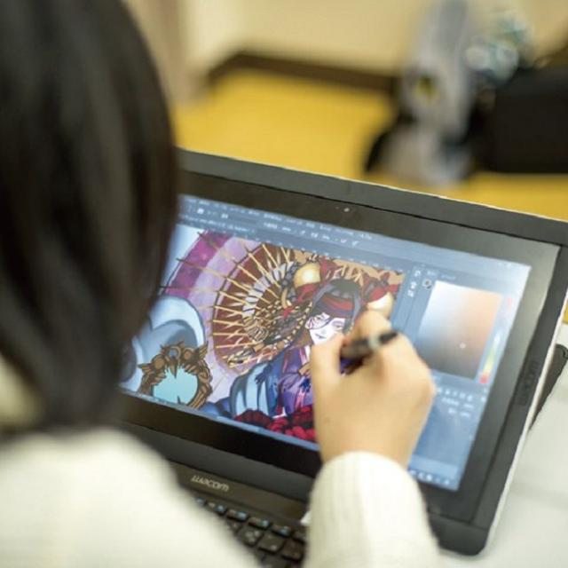 大阪デザイナー専門学校 【体験入学】はじめてのCG・ゲームデザイン講座4