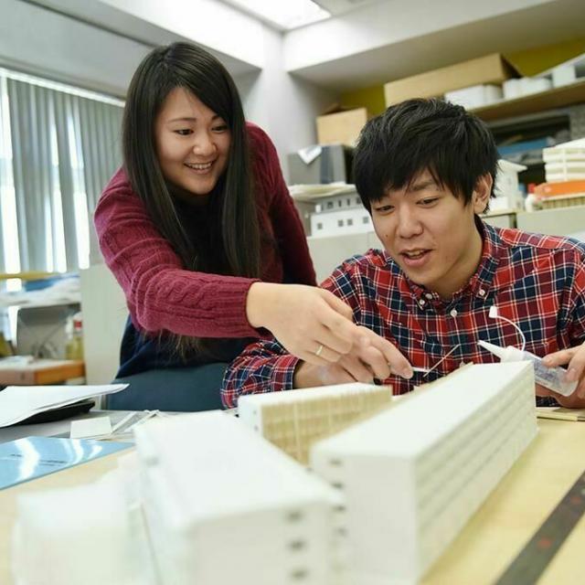 専門学校 東京テクニカルカレッジ 【建築監督科】大きな空間をつくろう1