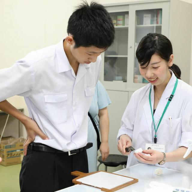 崇城大学 夏のオープンキャンパス 2021【薬学部】2